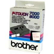 Banda continua laminata Brother TX252, 24mm, 15m