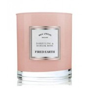Wax Lyrical Fired Earth Darjeeling & Damask Rose Świeca zapachowa 0,19 kg