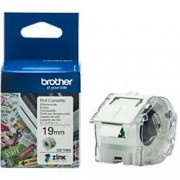 Brother Zink Label Roll Cassette CZ-1003 White 19 mm x 5 m