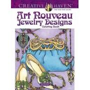 Creative Haven Art Nouveau Jewelry Designs Coloring Book