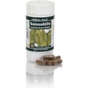 Herbal Hills Ayurvedic Senna Leaves (cassia angustifolia) Powder and Extract blend - 60 capsule 450 mg