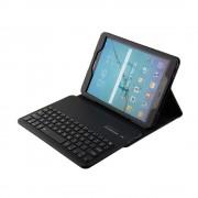 Javu - Samsung Galaxy Tab S2 9.7 (2016) - Bluetooth Toetsenbord Hoes Keyboard Cover Grain Zwart