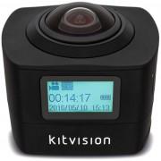 Camera Video de Actiune KitVision 360 Immerse KVIM220, Full HD, Wireless (Negru)