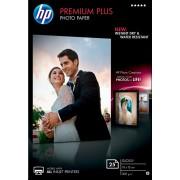 HP Premium Plus Inkjet fotopapier 10 x 15 cm Glanzend 300 g/m² 10 x 15 cm Wit 25 Vellen