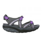 Lila 6 Sport sandal W charcoal grey/purple