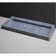 forzalaqua Waschbecken Naturstein BELLEZZA (120,5 cm) Marmor, ohne Hahnloch, 100331