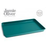 Тава за печене JAMIE OLIVER - 39 х 26 х h2,5 см - цвят атлантическо зелено