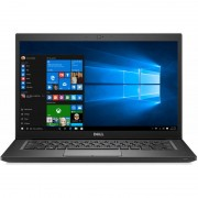 Laptop Dell Latitude 7490 14 inch FHD Intel Core i7-8650U 8GB DDR4 256GB SSD FPR Windows 10 Pro Black 3Yr BOS