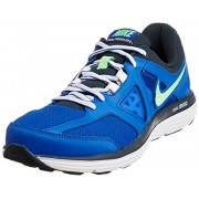 Nike Men's Dual Fusion Lite 2 Msl Lyon Blue,Poison Green,Classic Charcoal,White Running Shoes -7 UK/India (41 EU)(8 US)