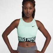 Débardeur court Nike Pro Intertwist pour Femme - Vert