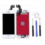 Ecran Lcd Vitre Tactile Blanc Pour Apple Iphone 5 Se Camera + Bouton Home + 4pcs Outils Affichage