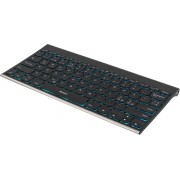 Deltaco Multi-Color Backlit Bluetooth Keyboard