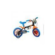 Bicicleta Caloi Hot Wheels - Aro 12 - Freio Tambor - Infantil - PRETO Caloi