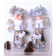 Decoratiune handmade cu lavanda - craiasa zapezii