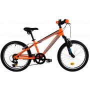 Bicicleta copii Dhs 2023 portocaliu negru 20 inch