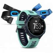 GPS мултиспорт часовник Garmin Forerunner 735XT Tri Bundle - 010-01614-10 с HRM-Swim и HRM-Tri пулсомери