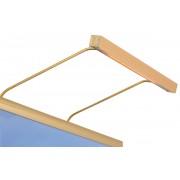 BLP Tavelbelysning BLP Belysning 117 för rambredd 45-70 cm - Guld
