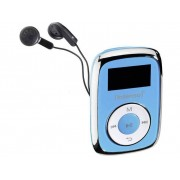 Intenso Music Movers MP3-spelare 8 GB Blå Monterings-clip
