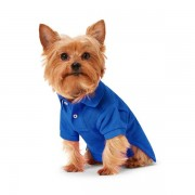 Ralph Lauren Pet Big Pony Mesh Dog Polo Shirt - Bright Royal - Size: Extra Large