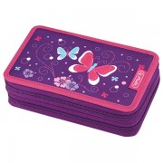 Herlitz emeletes tolltartó - Purple Butterfly pillangós