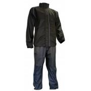 Ralka Regenpak Comfort Unisex Zwart/Antraciet Maat L