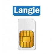 Langie Global SIM 3G karta - pre LANGIE S2 prekladač