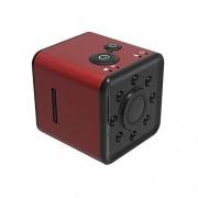 DISS Ocultada cámara espía inalámbrica, Full HD 1080P HD portátil pequeña niñera Cam con visión nocturna, Grabación de vídeo y detección de movimiento for el hogar, coches, aviones no tripulados, ofic