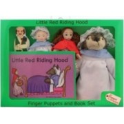 Jucarie educativa The Puppet Company Finger Puppets - Little Red Riding Hood