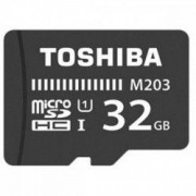 Card de memorie TOSHIBA MicroSDHC M203 32GB CLASS 10 UHS I U3 100MB/s cu adaptor SD