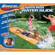 Kids Summer Fun Backyard Fun Banzai Water Slide Inflatable Play Center Summer Outdoor Pool Fun Swimming