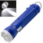 Rechargeable LED Flashlight Torch with Emergency Lights - 93 B