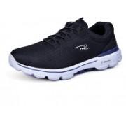 Mr.SHOES WX0378-1 BLACK FLEX ADVANTAGE 2.0 Walking Shoes For Men(Black)