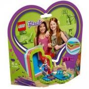 Конструктор Лего Френдс - Лятната кутия с форма на сърце на Mia, LEGO Friends, 41388