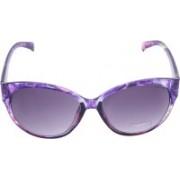 Miami Blues Over-sized Sunglasses(Grey)