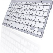 VU4 Ultra Slim Bluetooth Tablet Keyboard (Silver)
