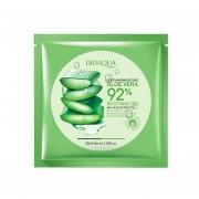 1pcs De Gel De Aloe Vera Natural Mascarilla Facial De Limpieza Profunda, Control De Aceite Hidratante Mascarilla Facial De Poro Anti-Wrinkle Shrink-verde
