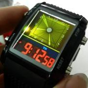 Štýlové LED hodinky Greenstyle