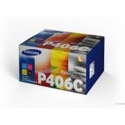 HP Clt-P406c Tóner De Láser 6000páginas Negro, Cian, Magenta, Amarillo