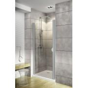 Schulte Home Porte de douche pivotante 90 cm, profilé alu-argenté