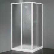 Box doccia ad angolo da 70/80 cm lastre in crilex