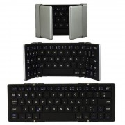 MAIKOU Teclado inalambrico Bluetooth para Android iOS de Windows - Negro