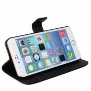 James Zhou Enfärgad plånboksfodral till iPhone 6 i fina färger! (Svart)