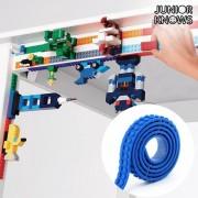 Banda Adeziva Albastra pentru Constructii Magic Junior Knows
