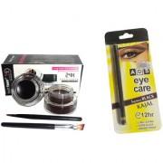 Music Flower Long Lasting Gel Eyeliner / ADS Eye Care Kajal