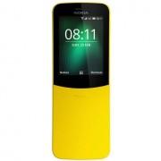"Nokia 8110 4g Telefono Cellulare 2,4"" Dual Sim Fotocamera 2 Mpx Ram 512 Mb Color"