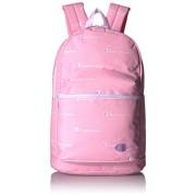 Champion Mochila para niña, color rosa y blanco