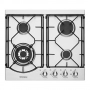 Westinghouse WHG644SA 60cm Stainless Steel Gas Cooktop