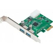Adaptor Gembird PCI Express la USB 3.0 2 porturi