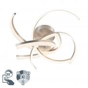 Honsel Design plafondlamp staal incl. LED 3 staps dimbaar - Friz