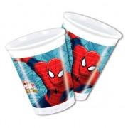 Marvel Spiderman feestbekers 8 stuks